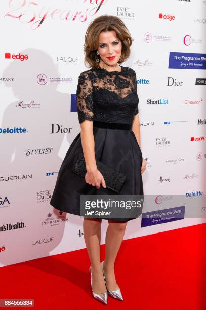Natasha Kaplinsky attends the Fragrance Foundation Awards at The Brewery on May 18 2017 in London England