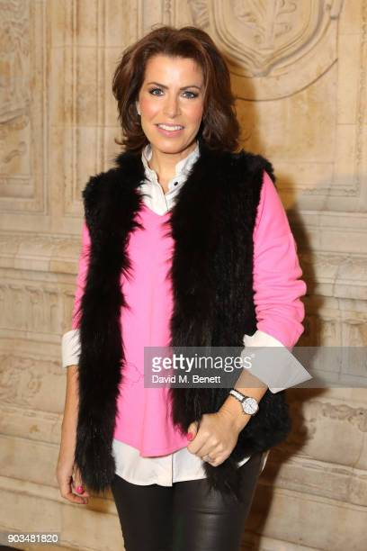 Natasha Kaplinsky attends the Opening Night performance of 'Cirque Du Soleil OVO' at the Royal Albert Hall on January 10 2018 in London England