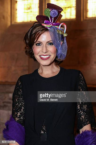 Natasha Kaplinsky attends the Save The Children Winter Gala at The Guildhall on November 22 2016 in London England