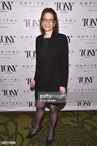 Natasha Katz attends the Tony Honors Cocktail Party presenting the 2017 Tony Honors for excellence in the theatre and honoring the 2017 special award...