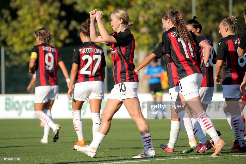 AC Milan v Pink Bari - Women Serie A : News Photo