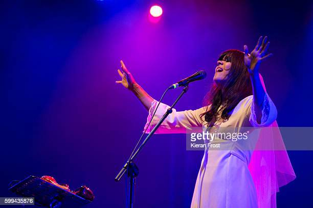 Natasha Khan aka Bat for Lashes performs at Electric Picnic at Stradbally Hall Estate on September 4, 2016 in Dublin, Ireland.