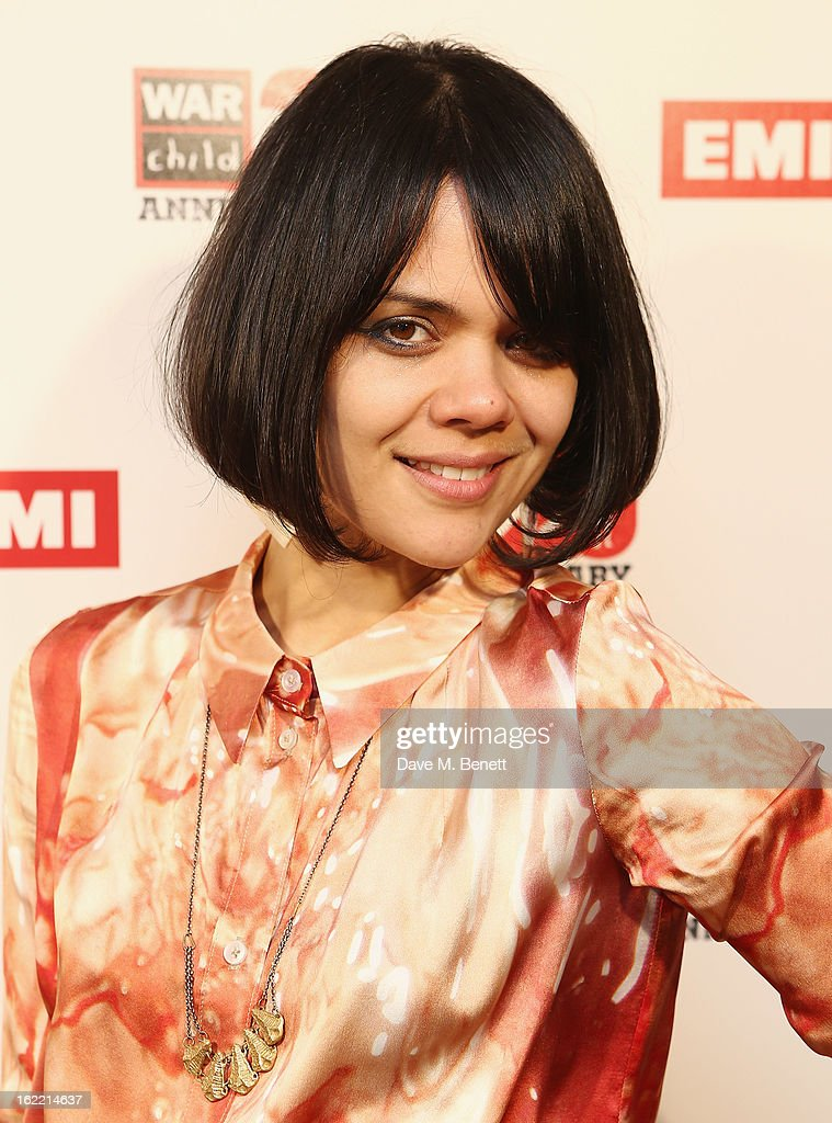 Natasha Khan attends the EMI & War Child Brits Aftershow Party at 02 Arena on February 20, 2013 in London, England.