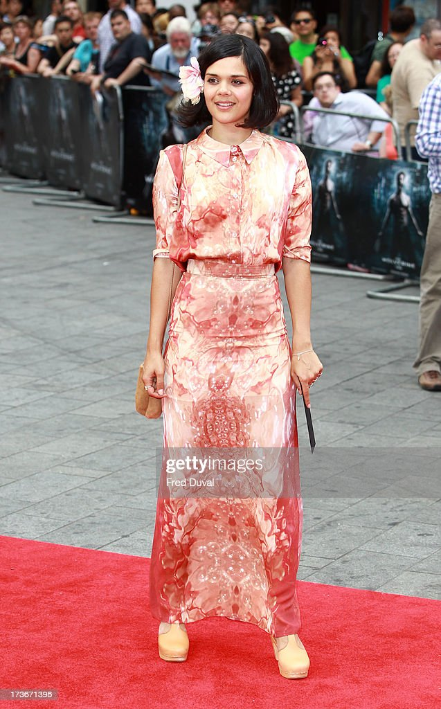 Natasha Khan attends the UK film premiere of 'The Wolverine' at The Empire Cinema on July 16, 2013 in London, England.