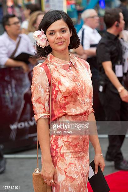 Natasha Khan attends the UK Premiere of 'The Wolverine' at Empire Leicester Square on July 16 2013 in London England