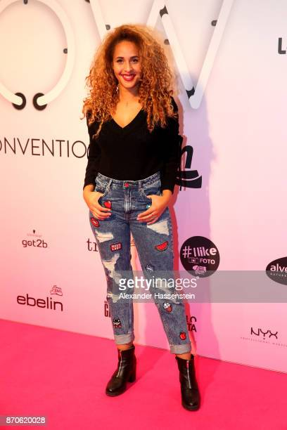 Natasha Kimberly attends the GLOW - The Beauty Convention at Station on November 4, 2017 in Berlin, Germany.