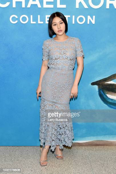 Natasha Lau attends the Michael Kors Collection Spring 2019 Runway Show at Pier 17 on September 12 2018 in New York City