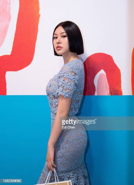 Natasha Lau attends the MICHAEL KORS COLLECTION Spring 2019 Runway Show Asia Pacific Front Row Faces at Pier 17 on September 12 2018 in New York City
