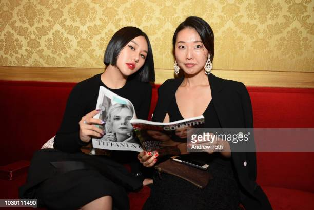 Natasha Lau attends Town Country 2018 New Modern Swans Celebration with Michael Kors Catherine ZetaJones and Carys Douglas on September 9 2018 in New...