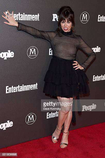Natasha Leggero attends the Entertainment Weekly People Upfronts party 2016 at Cedar Lake on May 16 2016 in New York City