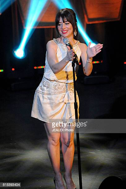 Natasha Leggero speaks onstage at SXSW Comedy with Natasha Leggero during the 2016 SXSW Music Film Interactive Festival at The North Door on March 12...