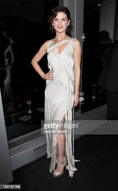 Natasha Leigh attends the Breast Cancer Campaign 'Action' Month launch party at Vertigo 42 on October 1 2012 in London England