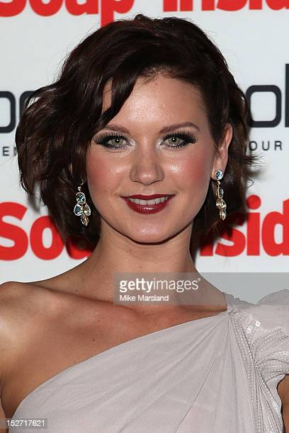 Natasha Leigh attends the Inside Soap Awards at One Marylebone on September 24 2012 in London England