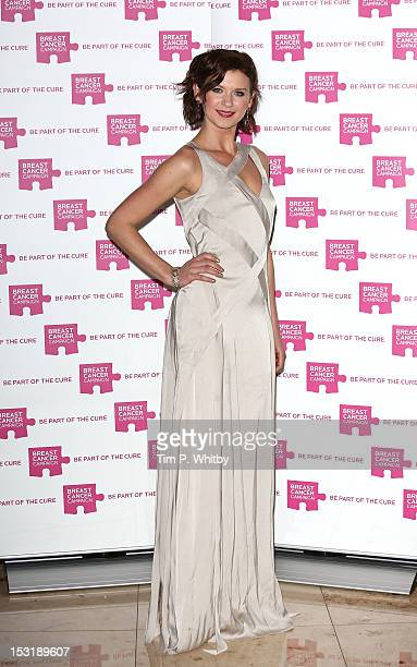 Natasha Leigh attends the launch party for Breast Cancer Campaign at Tower 42 on October 1 2012 in London England