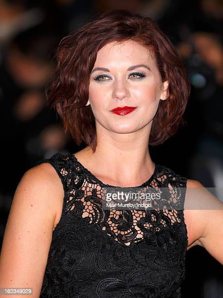 Natasha Leigh attends the UK premiere of 'Arbitrage' at Odeon Odeon West End on February 21 2013 in London England