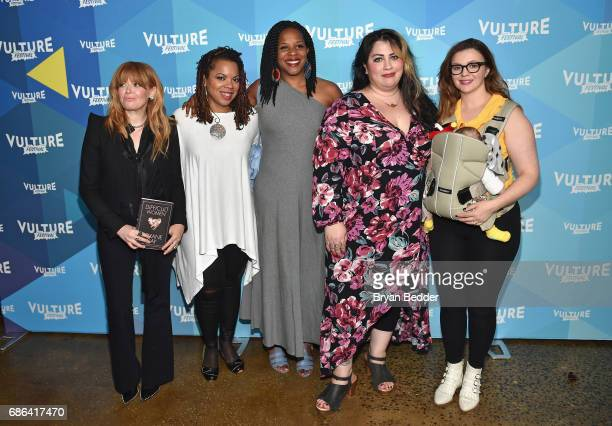 Natasha Lyonne Airea D Matthews Tayari Jones Rachel McKibbens and Amber Tamblyn attend Feminist As F*ck with Amber Tamblyn and Roxane Gay during the...