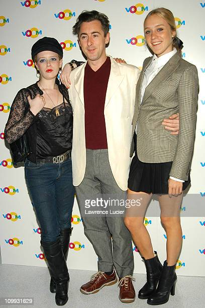 Natasha Lyonne Alan Cumming Chloe Sevigny during The Launch Of Voom Cablevision's Rainbow DBS HDTV Offering at Tribute in New York City New York...