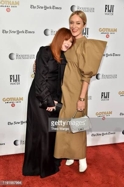 Natasha Lyonne and Chloë Sevigny attend the IFP's 29th Annual Gotham Independent Film Awards at Cipriani Wall Street on December 02, 2019 in New York...