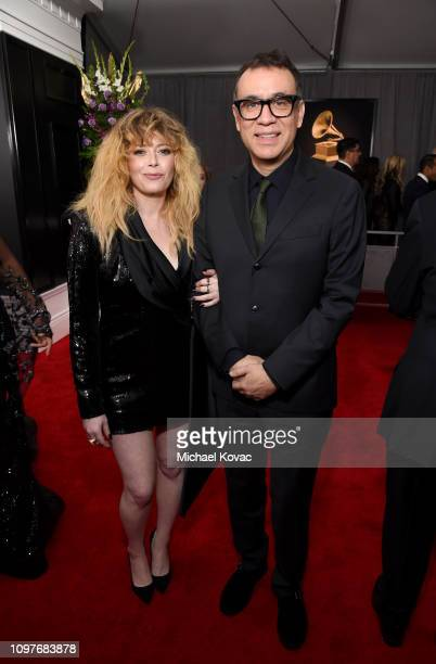 Natasha Lyonne and Fred Armisen attend the 61st Annual GRAMMY Awards at Staples Center on February 10, 2019 in Los Angeles, California.