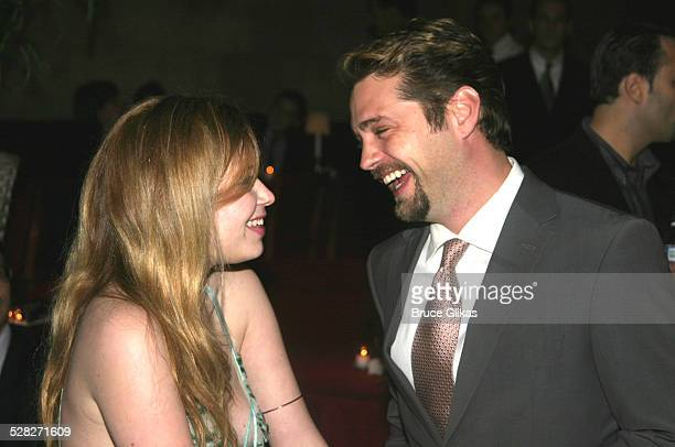 Natasha Lyonne and Jason Priestley during Die Mommie Die New York Premiere Afterparty at Laura Belle in New York City New York United States