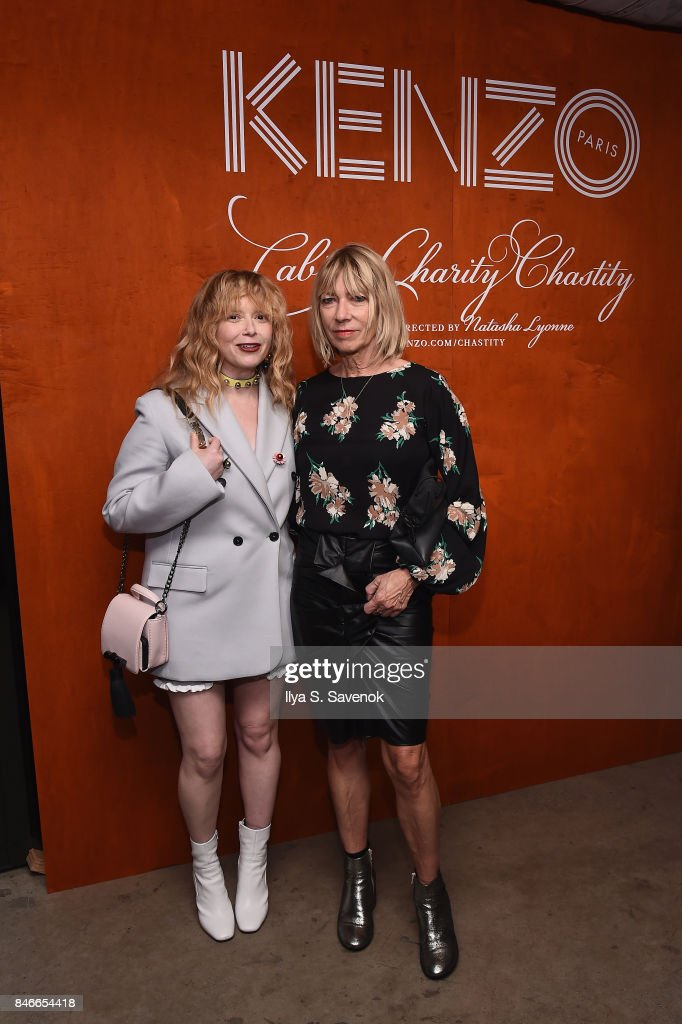 Natasha Lyonne (L) and Kim Gordon attend KENZO, Humberto Leon, Carol Lim And Natasha Lyonne Premiere 'Cabiria, Charity, Chastity' In New York City at Public Arts on September 13, 2017 in New York City.