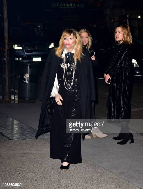 Natasha Lyonne arrives to the 2018 Museum of Modern Art Film Benefit A Tribute To Martin Scorsese at Museum of Modern Art on November 19 2018 in New...
