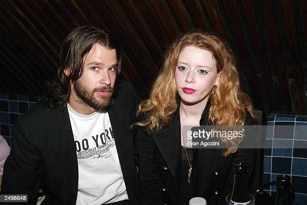 Natasha Lyonne attend the after party for the Marc Jacobs Spring/Summer 2004 Collection fashion show at the Maritime hotel during the 7th on Sixth...