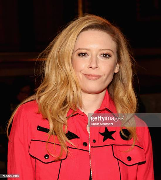 Natasha Lyonne attends Creatures of the Wind during Fall 2016 New York Fashion Week on February 11 2016 in New York City