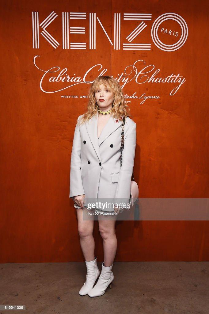 Natasha Lyonne attends KENZO, Humberto Leon, Carol Lim And Natasha Lyonne Premiere 'Cabiria, Charity, Chastity' In New York City at Public Arts on September 13, 2017 in New York City.
