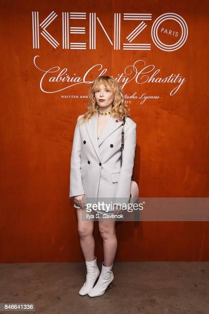 Natasha Lyonne attends KENZO Humberto Leon Carol Lim And Natasha Lyonne Premiere 'Cabiria Charity Chastity' In New York City at Public Arts on...