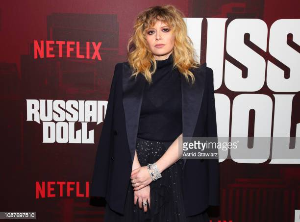 """Natasha Lyonne attends """"Russian Doll"""" Premiere at The Metrograph on January 23, 2019 in New York City."""