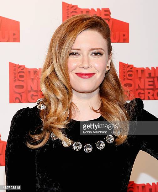 Natasha Lyonne attends The 20th Annual New Group Gala at Tribeca Rooftop on March 9 2015 in New York City