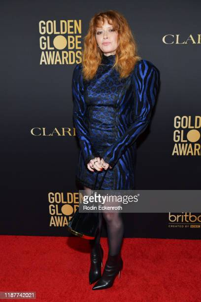 Natasha Lyonne attends the HFPA And THR Golden Globe ambassador party at Catch LA on November 14 2019 in West Hollywood California