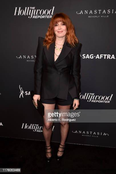 Natasha Lyonne attends The Hollywood Reporter and SAG-AFTRA Annual Nominees Night to celebrate Emmy Award contenders at Annual Nominees Night on...