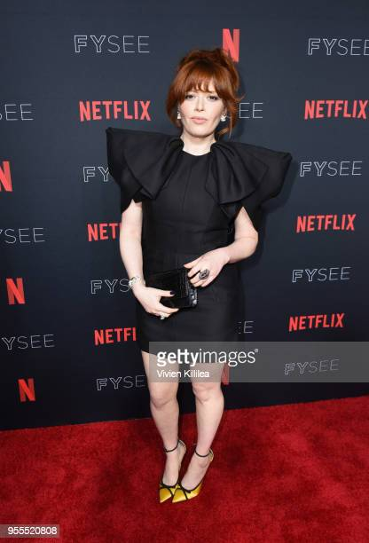 Natasha Lyonne attends the Netflix FYSee Kick Off Party at Raleigh Studios on May 6 2018 in Los Angeles California