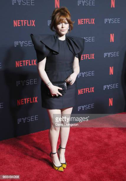 Natasha Lyonne attends the Netflix FYSEE KickOff at Netflix FYSEE At Raleigh Studios on May 6 2018 in Los Angeles California