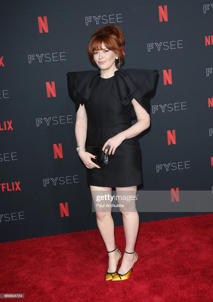Natasha Lyonne attends the Netflix FYSEE Kick-Off at Netflix FYSEE At Raleigh Studios on May 6, 2018 in Los Angeles, California.