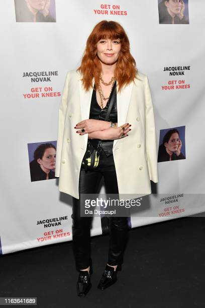 """Natasha Lyonne attends the opening night of """"Jacqueline Novak: Get on Your Knees"""" at Cherry Lane Theatre on July 22, 2019 in New York City."""