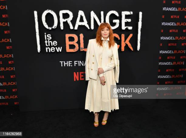 Natasha Lyonne attends the Orange is the New Black Season 7, World Premiere Screening and Afterparty 2019 on July 25, 2019 in New York City.