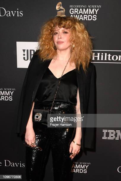 Natasha Lyonne attends the PreGRAMMY Gala and GRAMMY Salute to Industry Icons Honoring Clarence Avant at The Beverly Hilton Hotel on February 9 2019...