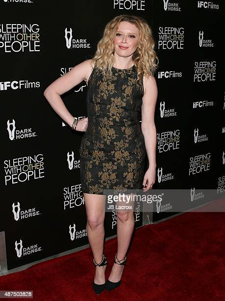 Natasha Lyonne attends the premiere of IFC Films' 'Sleeping with other people' held at ArcLight Cinemas on September 9 2015 in Hollywood California