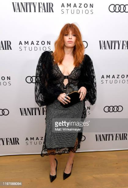 Natasha Lyonne attends Vanity Fair Amazon Studios and Audi Celebrate The 2020 Awards Season at San Vicente Bungalows on January 04 2020 in West...