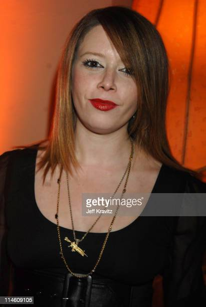 Natasha Lyonne during HBO 2007 PreGolden Globes Party at Chateau Marmont in Los Angeles California United States