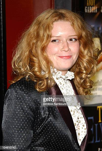 Natasha Lyonne during 'The Man From Elysian Fields' Premiere New York at The Village East Theatre in New York City New York United States