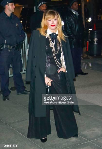 Natasha Lyonne is seen at The Museum of Modern Art Film Benefit Tribute to Martin Scorsese on November 19 2018 in New York City