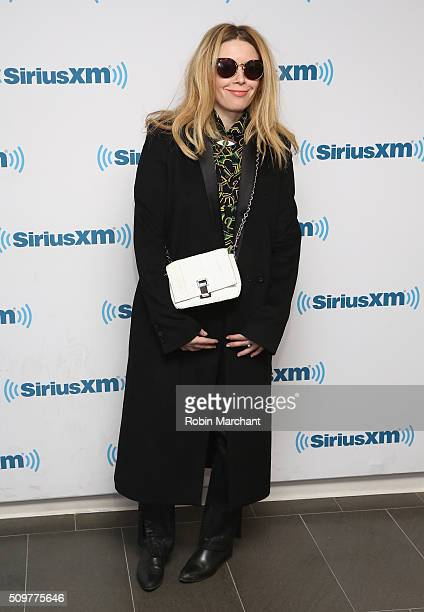 Natasha Lyonne visits at SiriusXM Studios on February 12 2016 in New York City