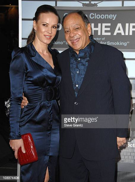 Natasha Marin and Cheech Marin attend the Up In The Air Los Angeles Premiere at Mann Village Theatre on November 30 2009 in Westwood California