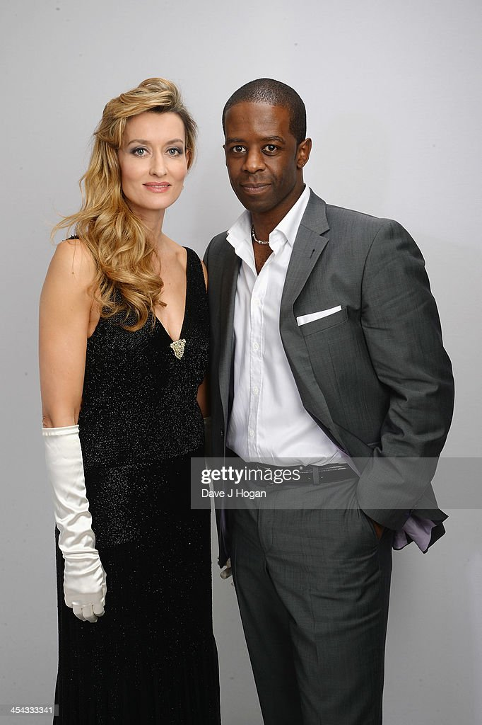 Natasha McElhone and Adrian Lester attend the Moet British Independent Film Awards 2013 at Old Billingsgate Market on December 8, 2013 in London, England.