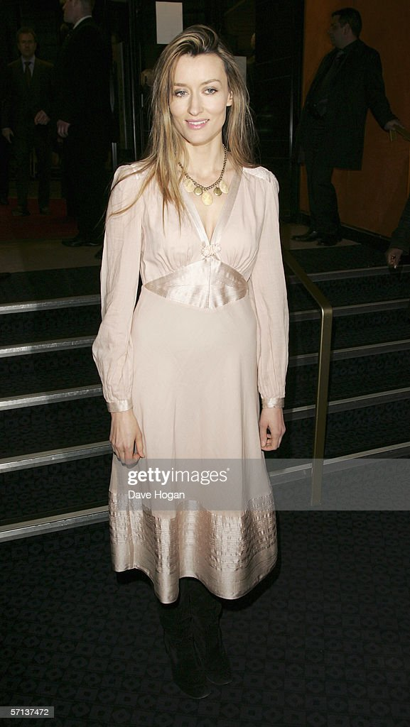 Natasha McElhone arrives at the UK Premiere of 'The White Countess' at the Curzon Mayfair on March 19, 2006 in London, England.