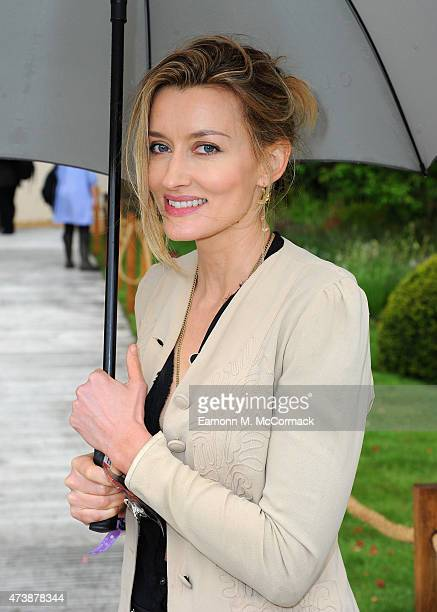 Natasha McElhone attends the Chelsea Flower Show at Royal Hospital Chelsea on May 18 2015 in London England